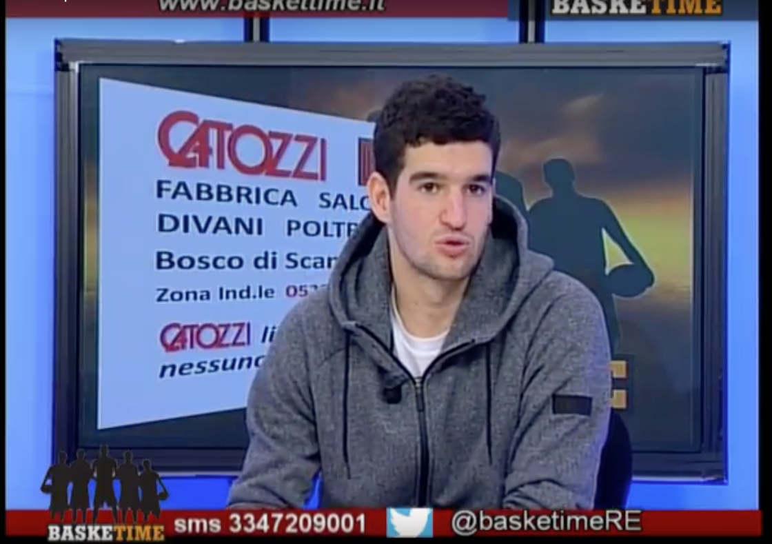 VIDEO BaskeTime 8 Puntata Ospite Federico Mussini