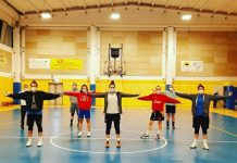 Puianello basket team